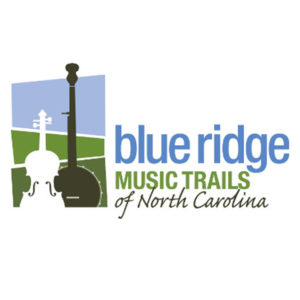 blue ridge music trails logo
